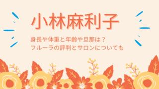 小林麻利子のブログタイトルカード