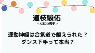 道枝駿佑運動ブログタイトル