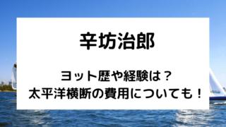 辛坊治郎のヨット歴は?